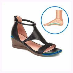 Over 50 Womens Fashion, Womens Fashion Sneakers, Fashion Shoes, Women Sandals, Shoes Sandals, Bunion Shoes, Comfy Heels, Knit Fashion, Luxury Shoes