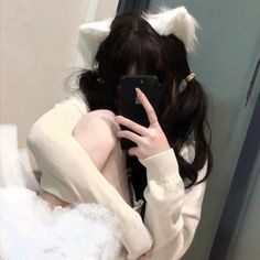 Cute Profile Pictures, Girl Pictures, Girl Photos, Goth Aesthetic, Aesthetic Images, Cute Korean Girl, Asian Girl, Cute Girls, Cool Girl