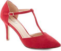 Get It, Got It, Go-See Heel in Red.