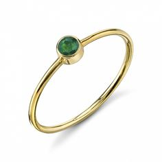 Starling Jewelry Olive Bezel Ring