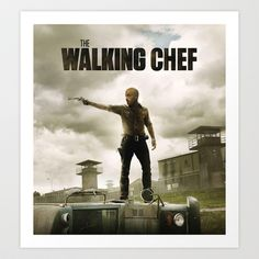 "Joe Bastianich di Master Chef in ""The Walking Chef""  Poster modificato di The Walking Dead.   Potete trovare altri poster sullla fan Page di Facebook Hat-Man!   https://www.facebook.com/riccardograziolifotomovie?ref=hl"
