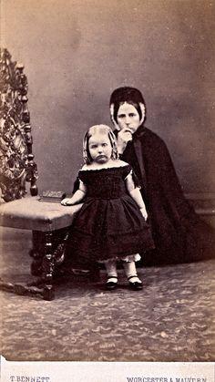 His Orphan, English Albumen Carte de Visite, Circa 1868 | Flickr