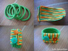 #crochet #bracelet, a birthday present for my neighbour