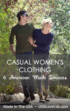 Casual women's Clothing 6 American Made Sources Spring fashion