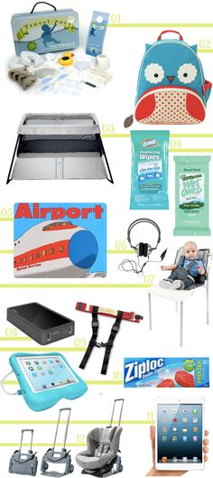 Travel Sanity:  The Best Gear for Traveling with Babies & Toddlers