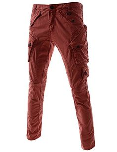 ::::Theleesshop:::: All mens slim & luxury items Cargo Pants, Men's Pants, Starting From The Bottom, Mens Cargo, Slim Man, Denim Jeans, Parachute Pants, Brand New, Pocket