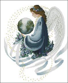 Cross Stitch Angels, Close Image, Perler Beads, Fairy, Embroidery, Crochet, Cross Stitches, Arrow Keys, Stitch Patterns