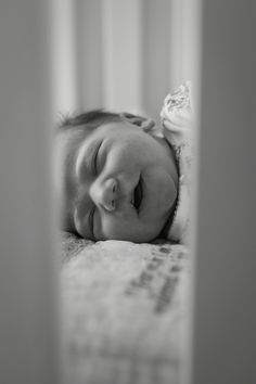 At home newborn photography