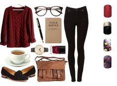 Fall fashion geek chic Jamberry http://bethsjams.jamberrynails.net/category/new-notable