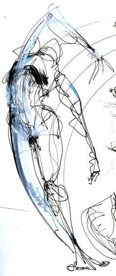 scribure: Gesture Drawing @Karole Amooty