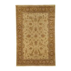 Kerman Rug, Light Gold/Medium Gold - Ethan Allen US