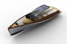 Boat Dock Designs And Plans E Boat, Yacht Boat, Boat Dock, Sailing Boat, Cool Boats, Small Boats, Wooden Boat Plans, Wooden Boats, Yacht Design