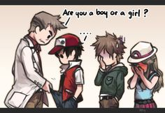Are you a boy or a girl ? by kawacy on DeviantArt