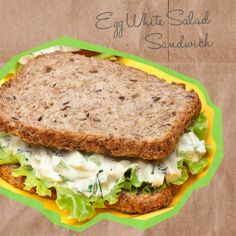 Egg White Salad Sandwich