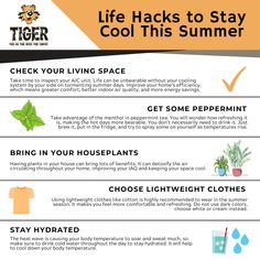 The hottest season of the year is already here, so we've got some life hacks to help you stay cool this summer. Check it out! Heating Furnace, Eden Prairie, Seasons Of The Year, Check It Out, Minneapolis, Summer Days, Plumbing, Improve Yourself, Life Hacks