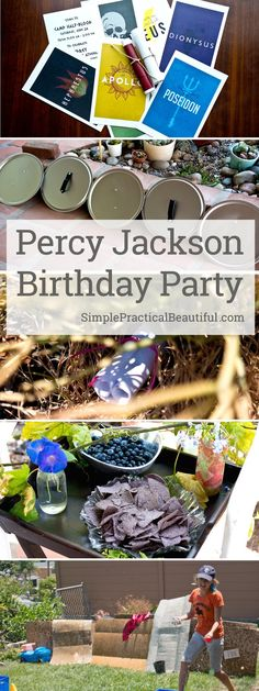 Percy Jackson Party - Simple Practical Beautiful