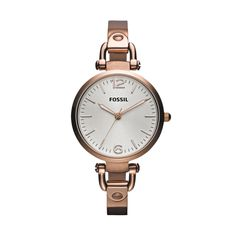 FOSSIL® Watch Collections Georgia Watches Women Georgia Stainless Steel  Watch - Rose ES3110 Rose 68ab9a5e41fec