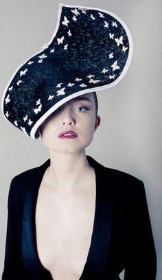 ⍙ Pour la Tête ⍙ hats, couture headpieces and head art - Carrie Jenkinson Millinery