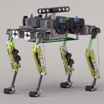 The cheetah-cub robot is light, fast and agile, which would make it a good fit for search and rescue operations. Clean Technology, Robot Technology, Science And Technology, Drones, Lausanne, Biomimicry Examples, Robot Leg, Diy Robot, Working Robots