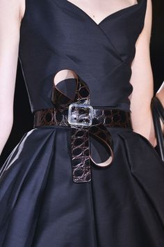 I need to figure out how to belt like that. Dsquared² Spring 2014