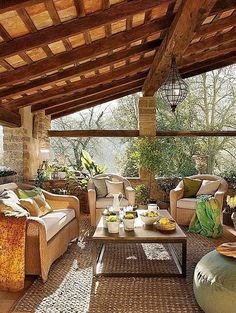 Rustic Porch - Come find more on Zillow Digs!
