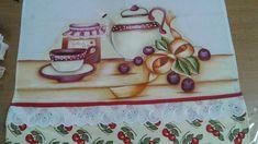 Pintura feita por Rosania Landim com o grupo café e pinturas prof Marli couto