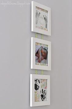 Pictures for newborn wall.