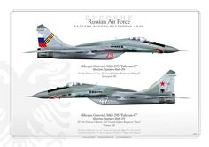 """Russian Air Force Mig-29S """"Fulcrum"""""""