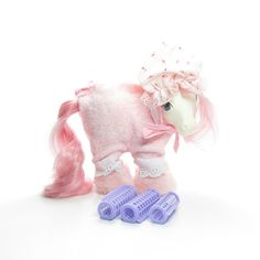 6a7341867 My Little Pony Pajamas Sweet Dreams Vintage G1 Pony Wear Clothes Outfit  with Fuzzy Slippers