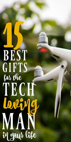 15 Best Gifts for the Tech Loving Man in Your Life - MBA sahm If you're looking for gift ideas for Father's Day, check out this list of tech gifts for dad!