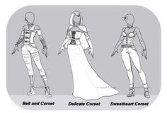Outfit OTA : Batch.16 ( OPEN : 1/3 ) by JessyB-Design on DeviantArt