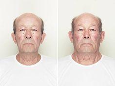symmetrical faces