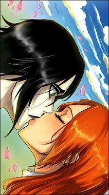 Bleach - Ulquiorra Cifer x Orihime Inoue - UlquiHime Ulquiorra And Orihime, Bleach Orihime, Bleach Manga, Bts Anime, Anime Guys, Manga Anime, Anime Art, Snape And Lily, Bleach Couples