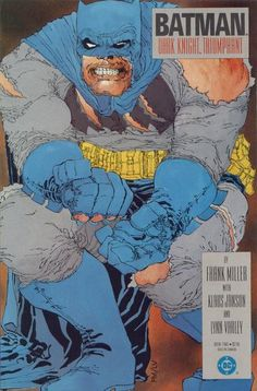 Batman: The Dark Knight Returns by Frank Miller - Reviews, Discussion, Bookclubs, Lists