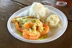 kahuku shrimp in garlic & butter sauce (north shore, Oahu) Been there, ate that ;)