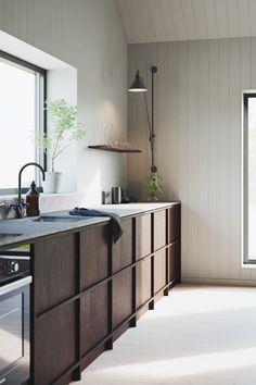 Modern Kitchen Design, Interior Design Kitchen, Bathroom Interior, Küchen Design, House Design, Design Ideas, Scandinavian Kitchen, Minimalist Kitchen, Home Kitchens