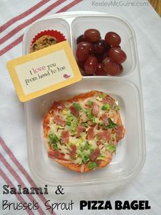 Keeley McGuire: Lunch Made Easy: 6 Ways to use Salami for School Lunches {non-sandwich lunches}