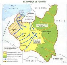 """1939 II GM - Antes de comenzar la invasión Alemania firmo en agosto un """"tratado de no agresión"""" con la Unión Soviética y ademas de repartirse mas tarde Polonia entre las dos potencias. Este tratado fue recibido muy mal por Reino Unido y por Francia que firmaron un tratado con Polonia de """"Ayuda Mutua"""" en caso de que fueran atacados por estos otros."""