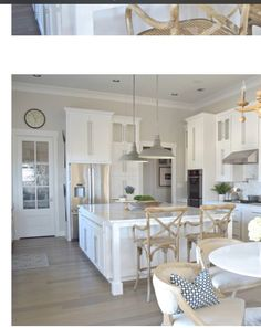 Welcome to our transitional modern white kitchen tour! I sure hope you enjoy the tour of this entire space as much as we enjoy using it! Best White Paint, White Paint Colors, Interior Paint Colors, Paint Colors For Home, House Colors, Gray Paint, Kitchen Paint, Kitchen Decor, Kitchen Design