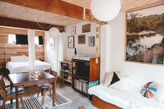 Alex's Stylish Small Home in a Converted Garage