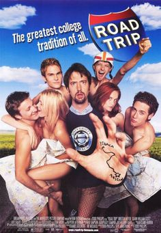 Directed by Todd Phillips. With Breckin Meyer, Seann William Scott, Amy Smart, Paulo Costanzo. Four friends take off on an 1800 mile road trip to retrieve an illicit tape mistakenly mailed to a girl friend. Road Trip Film, Road Trip 2000, Dj Qualls, Comedy Movies, Hd Movies, Movies Online, Movie Film, Epic Film, Travel