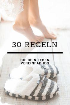 30 Regeln, die dein Leben (wieder) vereinfachen — Niko Juranek