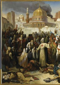 First Crusade- Capture of Jerusalem by the Christian crusaders