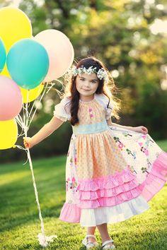 Fairytale Princess Apron Peasant Dress by ChewChewsCloset on Etsy, $50.00
