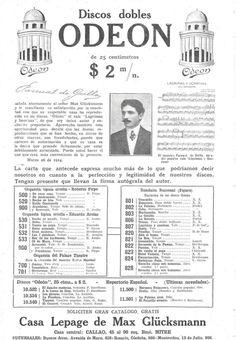 Revista Caras y Caretas dia  04/04/1914