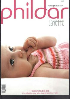 Catalogue Phildar N°489 Layette Printemps-Ete 2008 - ok