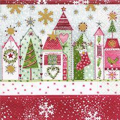 Weihnachten, Weihnachts Servietten, Weihnachtsbasteln, Bastelarbeiten Aus  Papier Und Pappe, Basteln Für Kinder, Glas Kerze, Tole Malerei, Collage, ...