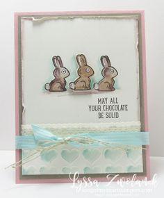 Vintage Chocolate Easter Bunnies
