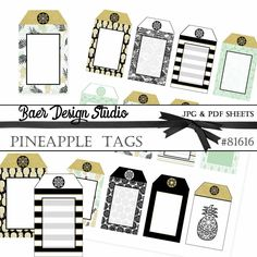 Wood Printable Tags, Party Favor Tags, Gift Tags, Wedding Favor ...