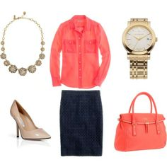 J Crew outfit, created by valenzjb on Polyvore
